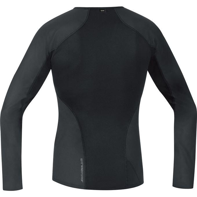 GORE M WS Base Layer Thermo L/S Shirt-black-M