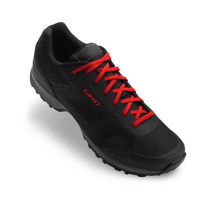 GIRO Gauge Black/Bright Red 48