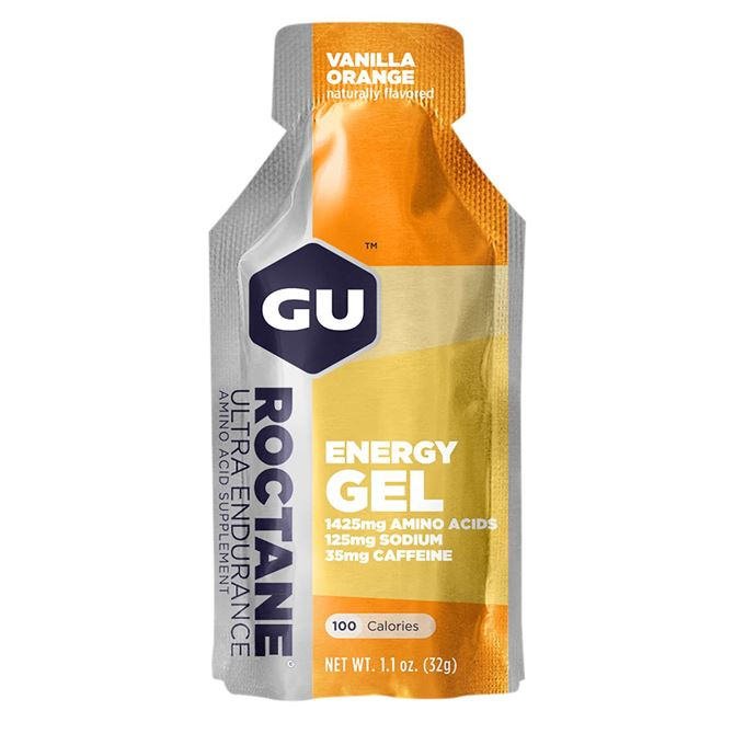 Výprodej-GU Roctane Energy Gel 32 g-vanilla/orange AKCE EXP 10/20