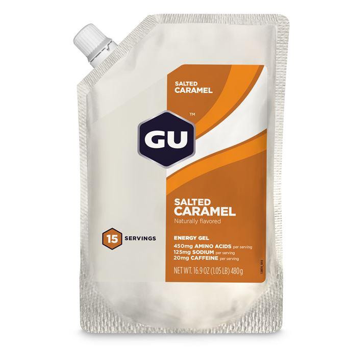 GU Energy Gel 480 g Salted Caramel - 15 dávek