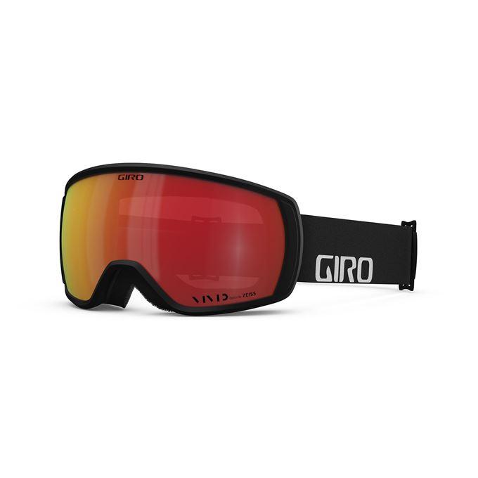 GIRO Balance Black Wordmark Vivid Ember