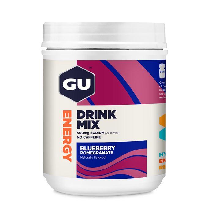 GU Hydration Drink Mix 849 g Blueberry/Pomegranate DÓZA