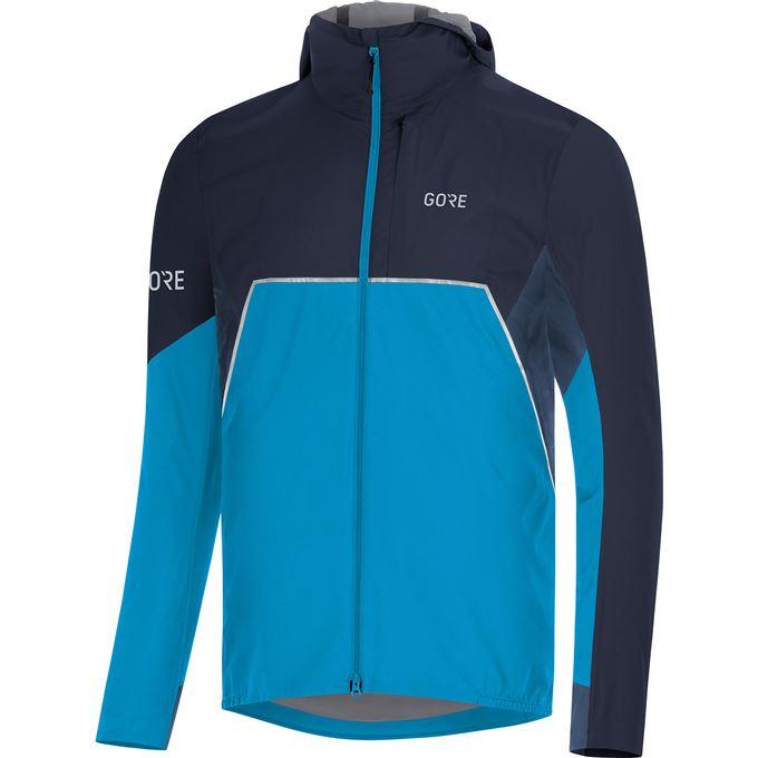 GORE R7 Partial GTX Infinium Hooded Jacket-dynamic cyan/orbit blue-XL