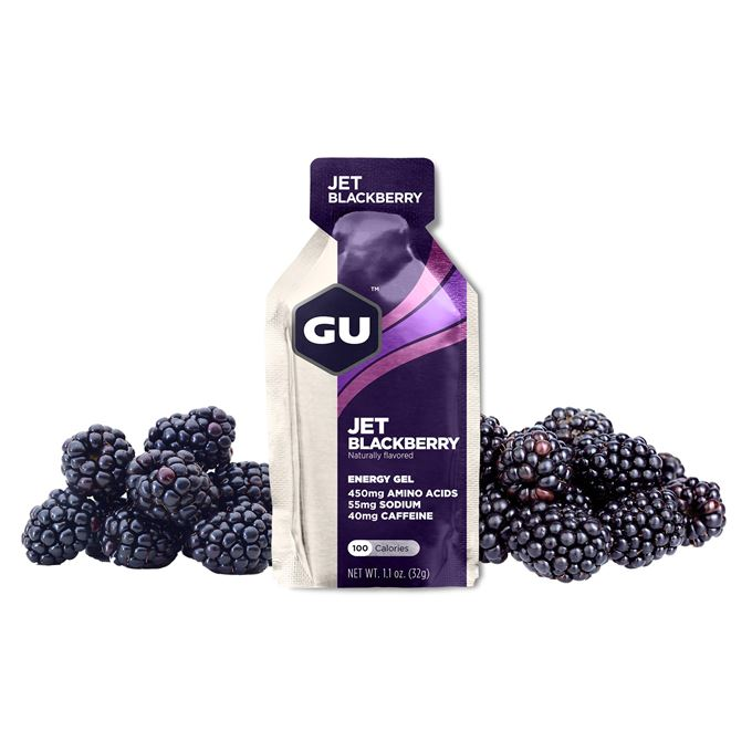 GU Energy Gel 32 g Jet Blackberry 1 SÁČEK (balení 24ks)