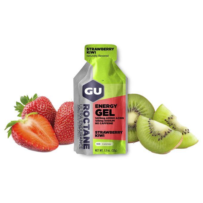 GU Roctane Energy Gel 32 g Strawberry/Kiwi 1 SÁČEK (balení 24ks)