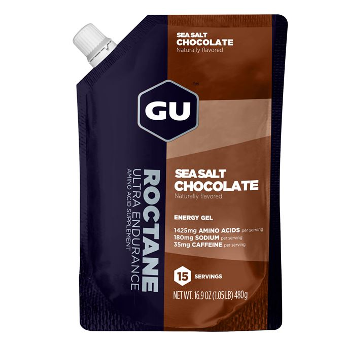 GU Roctane Energy Gel 480 g Sea Salt Chocolate - 15 dávek