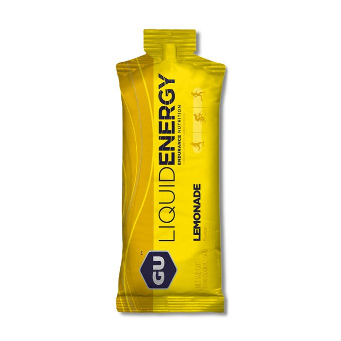 GU Liquid Energy Gel 60 g Lemonade 1 SÁČEK (balení 24ks)