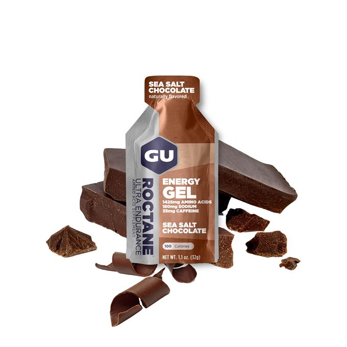 GU Roctane Energy Gel 32 g Sea Salt/Choco 1 SÁČEK (balení 24ks)
