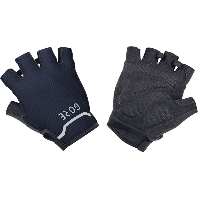 GORE C5 Short Gloves-black/orbit blue-8
