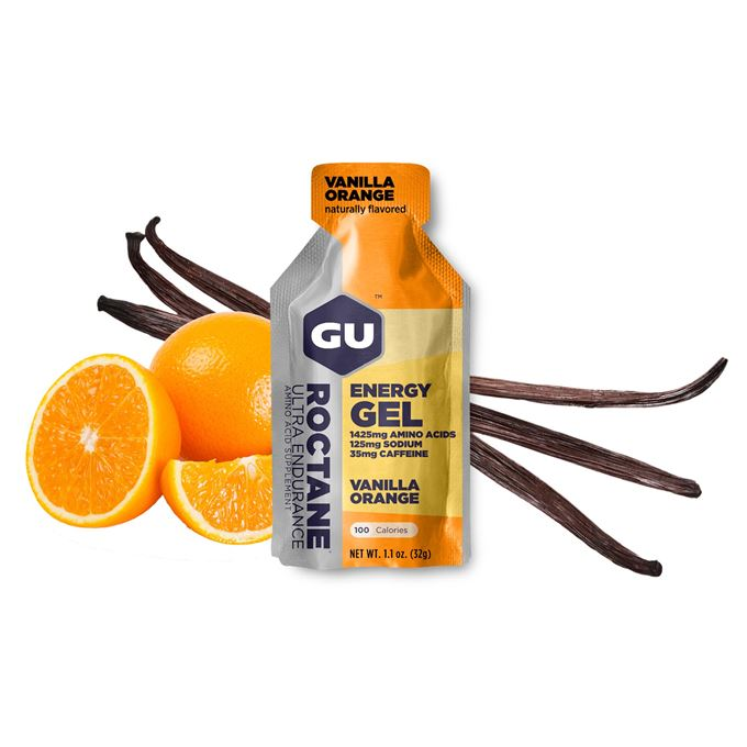 GU Roctane Energy Gel 32 g Vanilla/Orange 1 SÁČEK (balení 24ks)