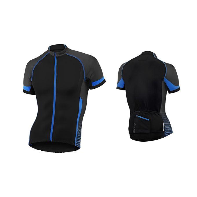 GIANT Streak S/S Jersey black/blue M