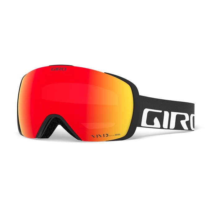 GIRO Contact Black Wordmark Vivid Ember/Vivid Infrared (2skla)