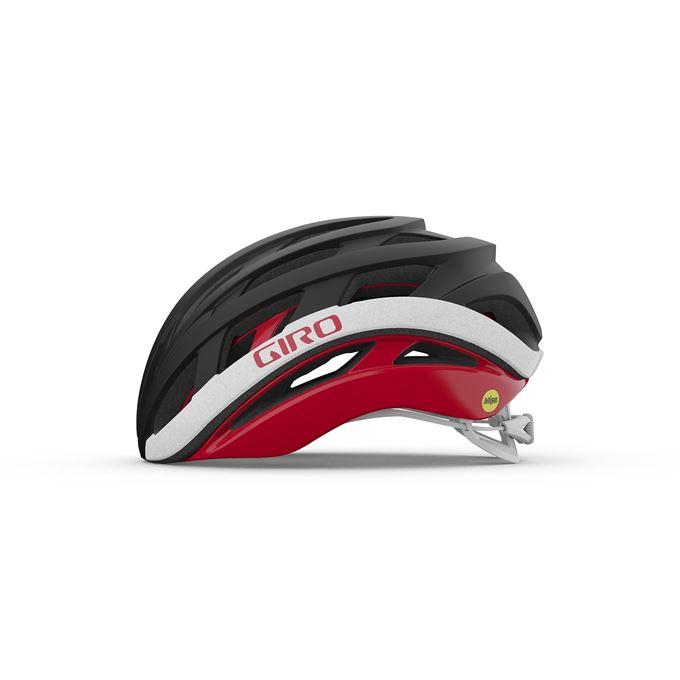GIRO Helios Spherical Mat Black/Red L