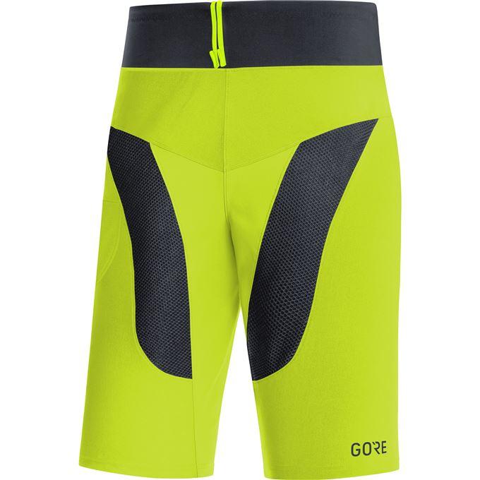 GORE C5 Trail Light Shorts-citrus green/black-XL