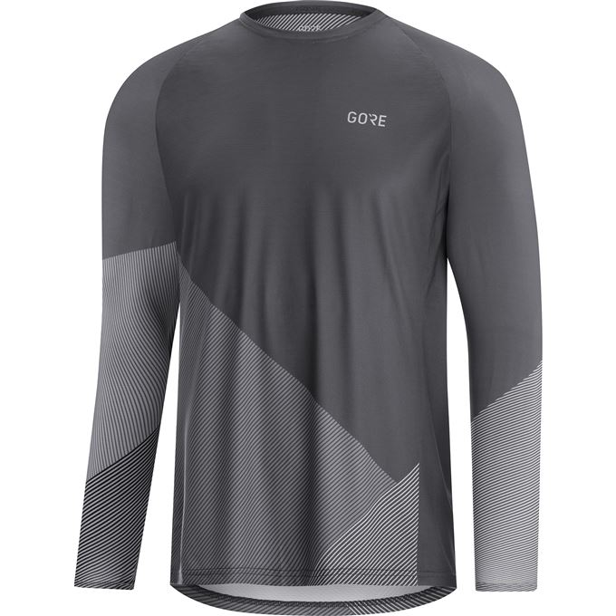 GORE C5 Trail Long Sleeve Jersey-dark graphite grey/graphite grey-XXL