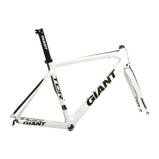 GIANT TCR Advanced-M11-XL-white/silver-rám