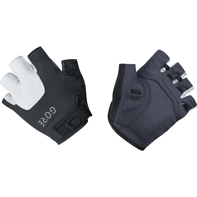 GORE C5 Short Finger Gloves-black/white-5