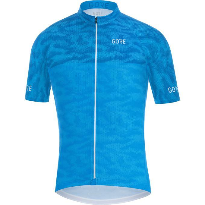 GORE C3 Cameleon Jersey-dynamic cyan/ciel blue-M