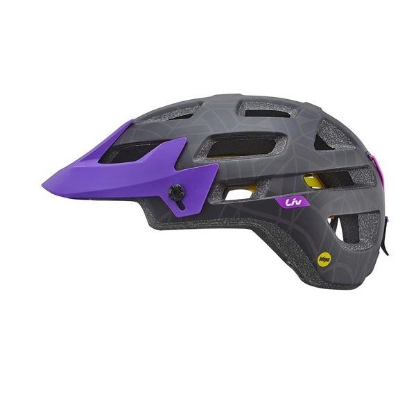 LIV přilba INFINITA MIPS-matte black/purple-M-CPSC/CE