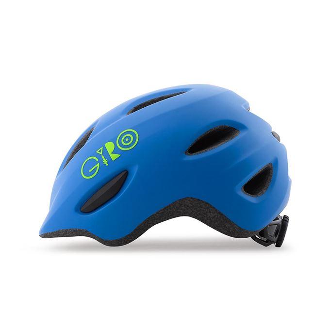 GIRO Scamp Mat Blue/Lime S