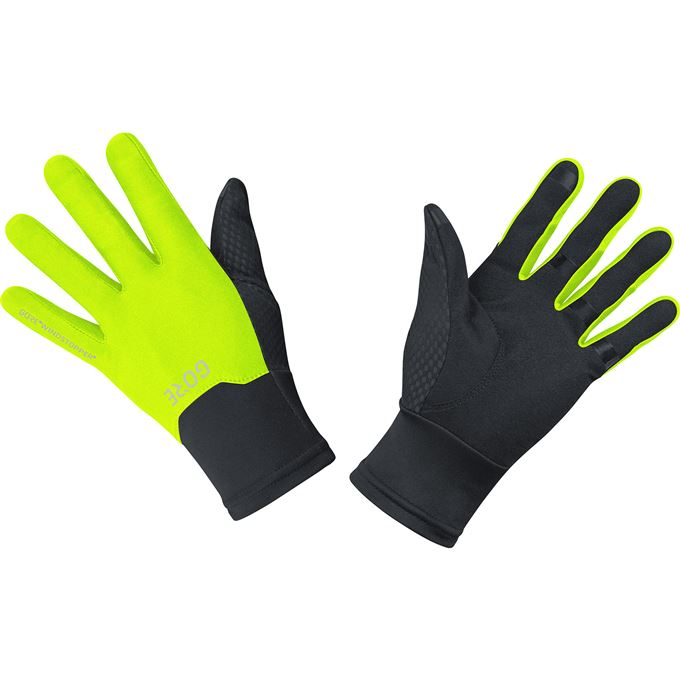 GORE M WS Gloves-black/neon yellow-7