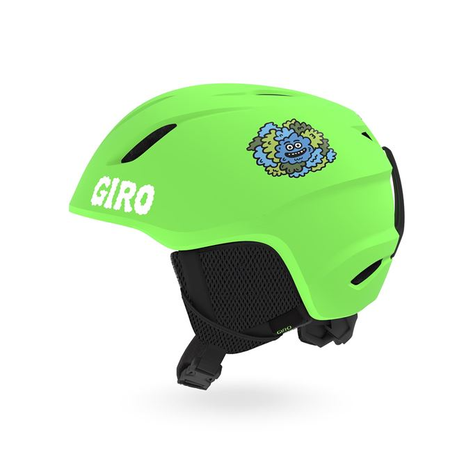 GIRO Launch Mat Bright Green/Lilnugs S