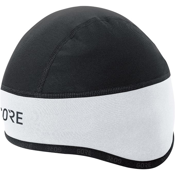 GORE C3 WS Helmet Cap-white/black-54/58
