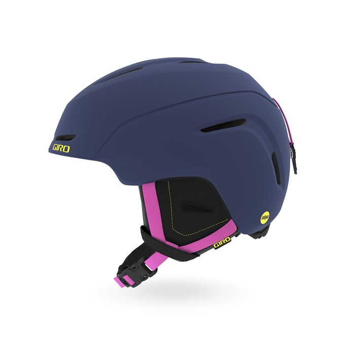 GIRO Neo Jr. MIPS Mat Midnight/Neon Lights S