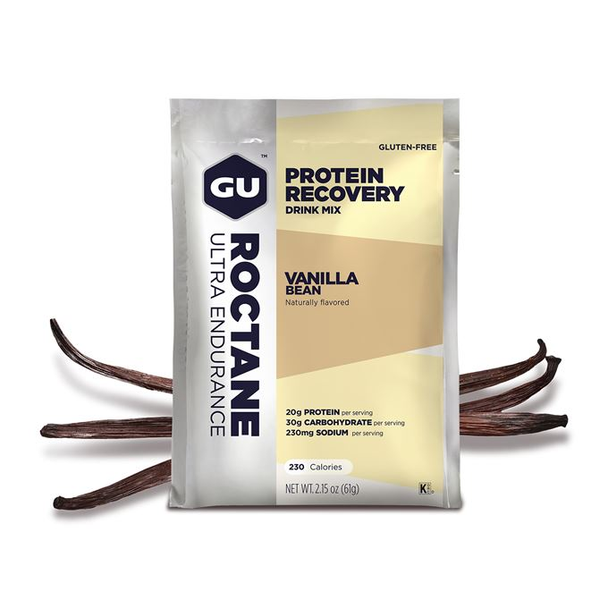 GU Roctane Recovery Drink Mix 61 g Vanilla Bean SÁČEK
