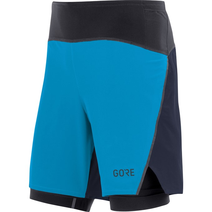 GORE R7 2in1 Shorts-dynamic cyan/orbit blue-XL