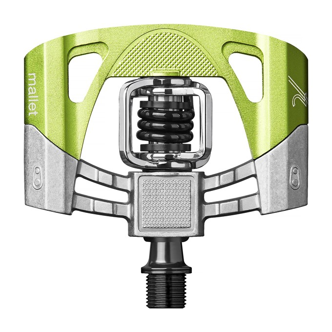 CRANKBROTHERS Mallet 2 Electric Lime/Black pedály