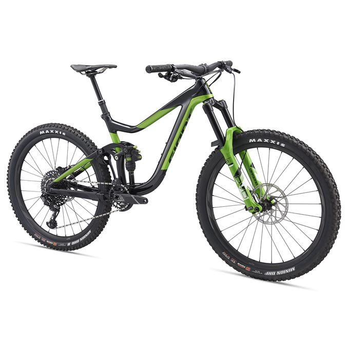 GIANT Reign Advanced 1-M19-M-metallic black/metallic green