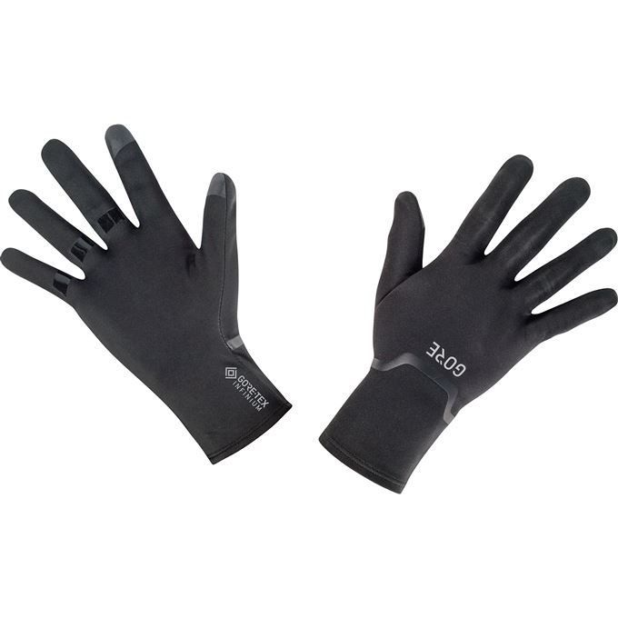 GORE M WS Thermo Gloves-black/neon yellow-9