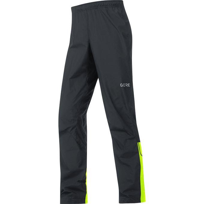 GORE C3 WS Pants-black/neon yellow-XXL