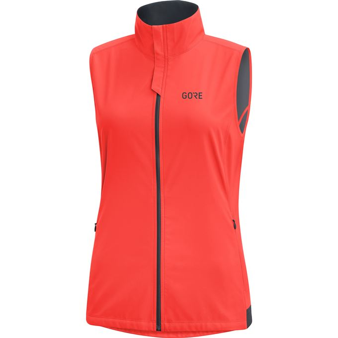 GORE R3 Women WS Vest-lumi orange-38
