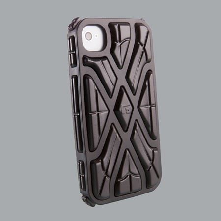 G-Form iPhone X-PROTECT 4 and 4S black shell