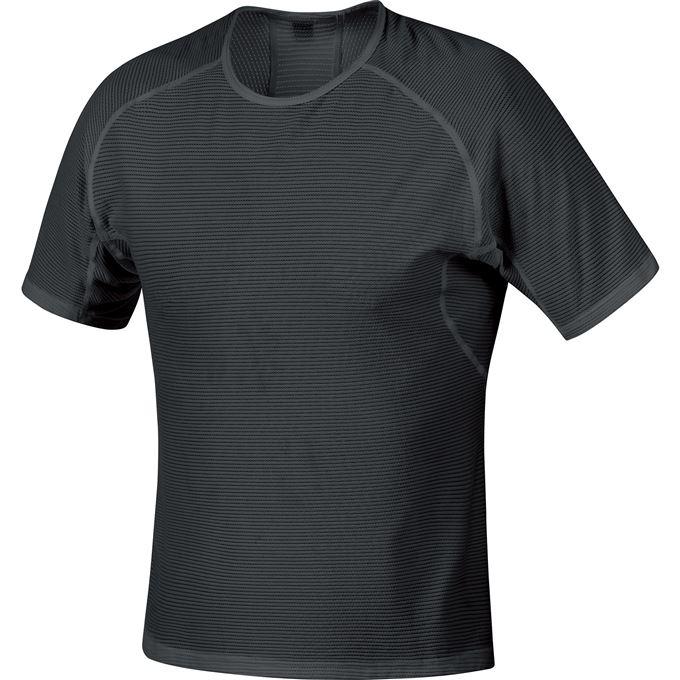 GORE M WS Base Layer Shirt-black-S