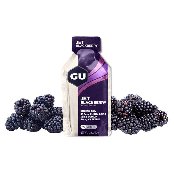 GU Energy 32 g Gel-Jet blackberry 1 SÁČEK (balení