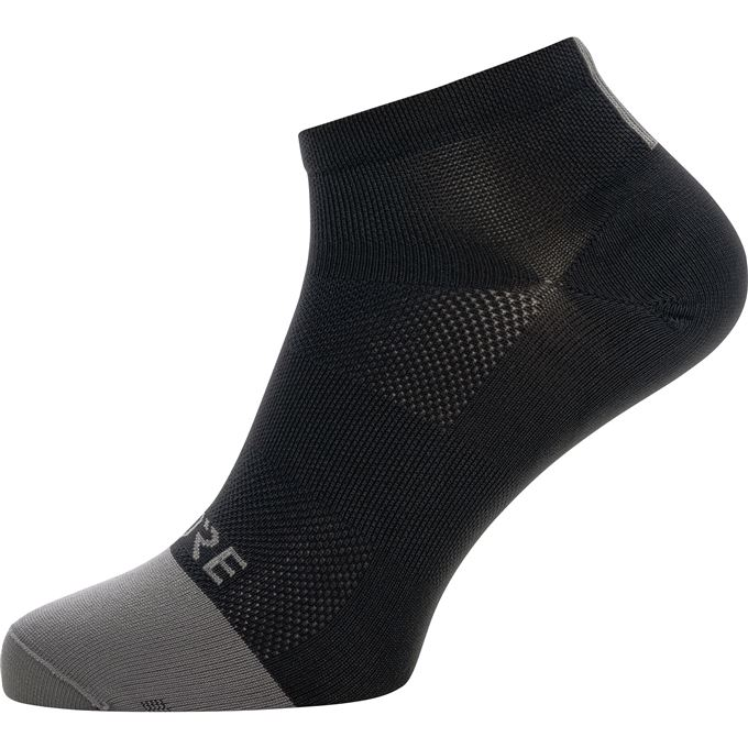 GORE M Light Short Socks-black/graphite grey-44/46