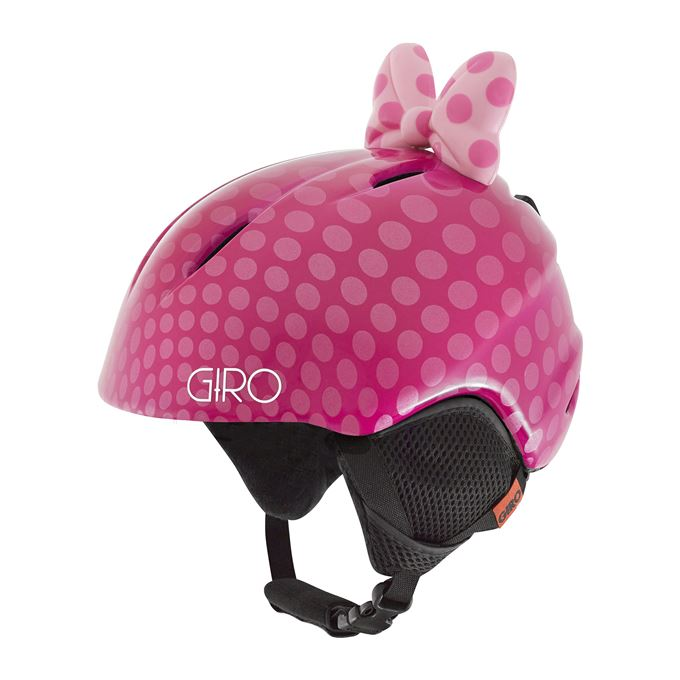GIRO Launch Plus Pink Bow Polka Dots S