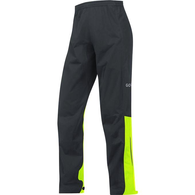 GORE C3 GTX Active Pants-black/neon yellow-XXL