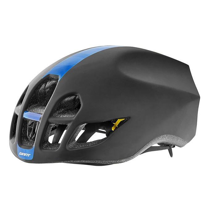GIANT přilba PURSUIT-matte black/blue pattern-L