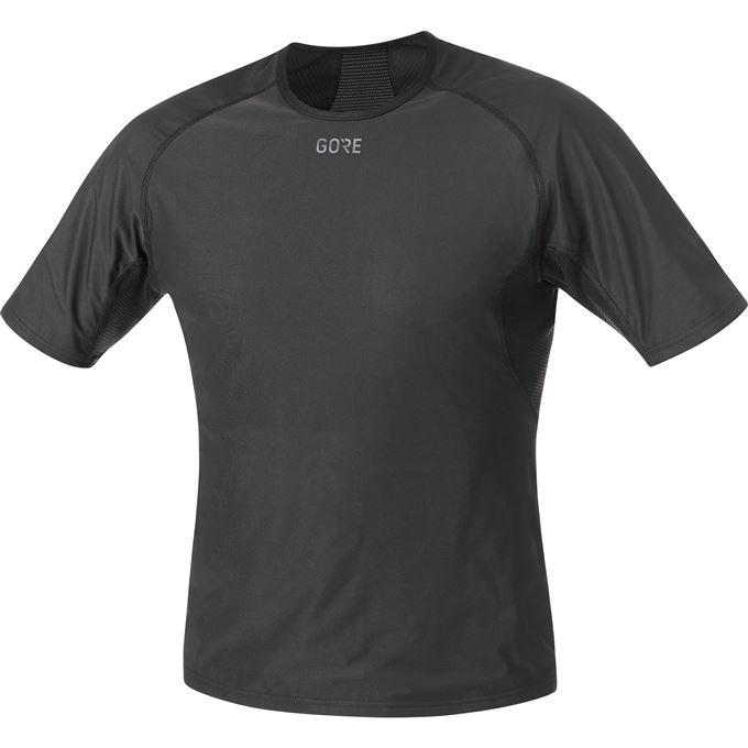 GORE M WS Base Layer Shirt-black-XXL