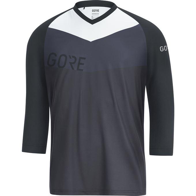 GORE C5 All Mountain 3/4 Jersey-terra grey/black-XL