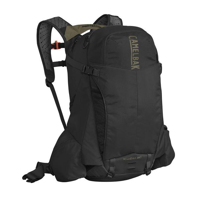 CAMELBAK KUDU TransAlp Protector 30 Black/Burnt Olive M/L