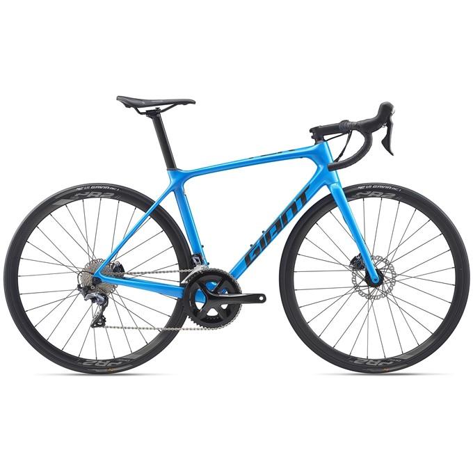 TCR Advanced 1 Disc-Pro Compact-M20-M-metallic blue/gunmetal black