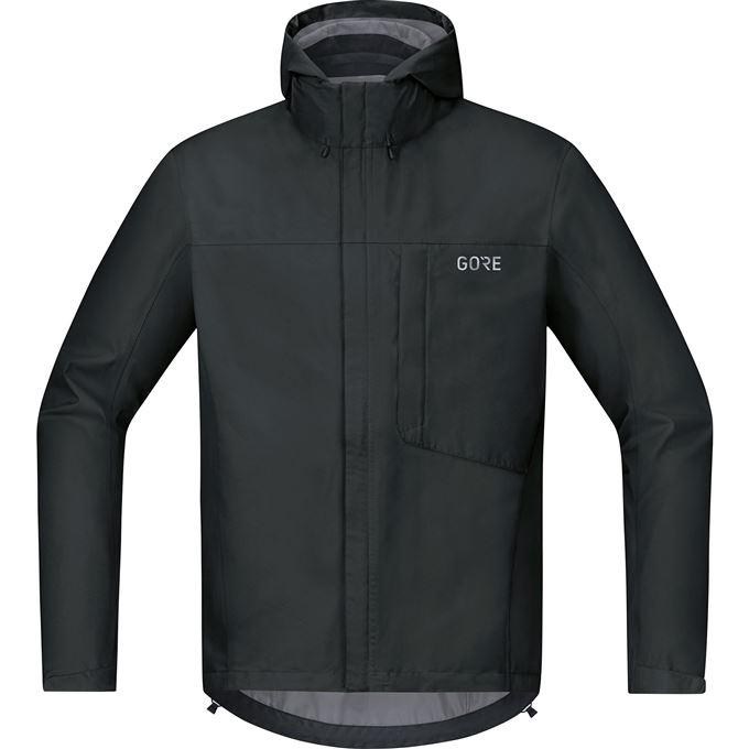 GORE C3 GTX Paclite Hooded Jacket-black-M