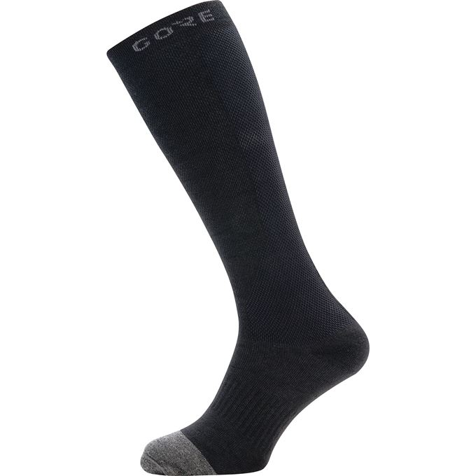 GORE M Thermo Long Socks-black/graphite grey-35/37