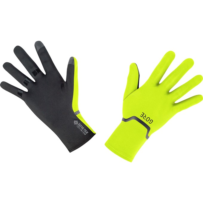 GORE M GTX Infinium Stretch Gloves-neon yellow/black-7