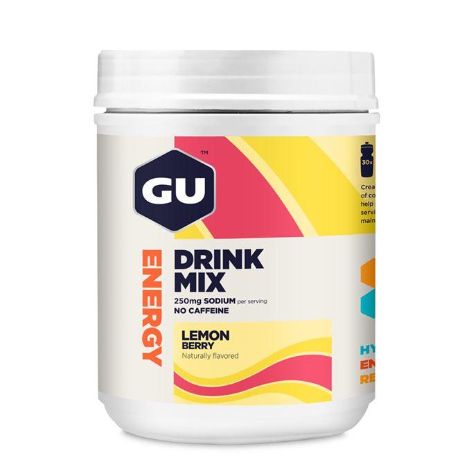 GU Hydration Drink Mix 849 g Lemon/Berry DÓZA